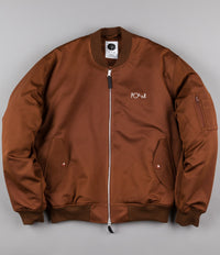 Polar Bomber Jacket - Bronze