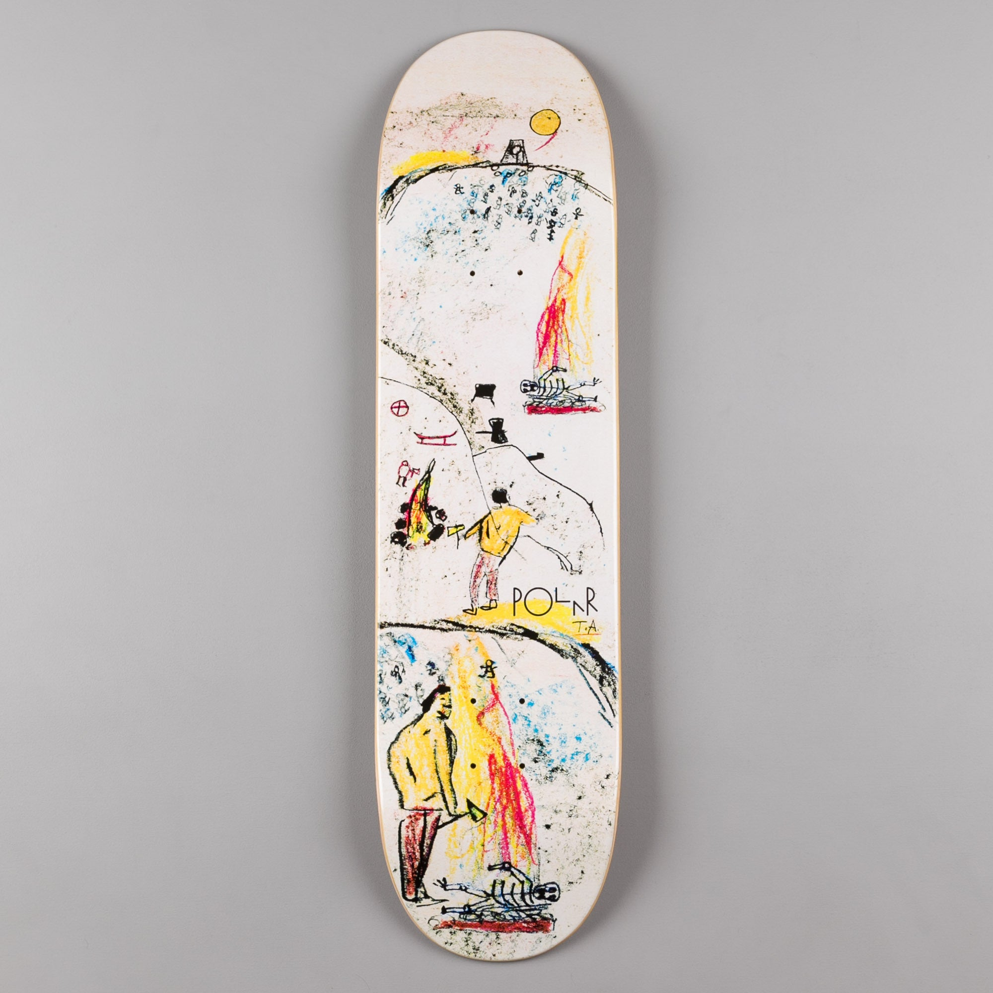Polar Bronze Age Team Deck - 8.125""