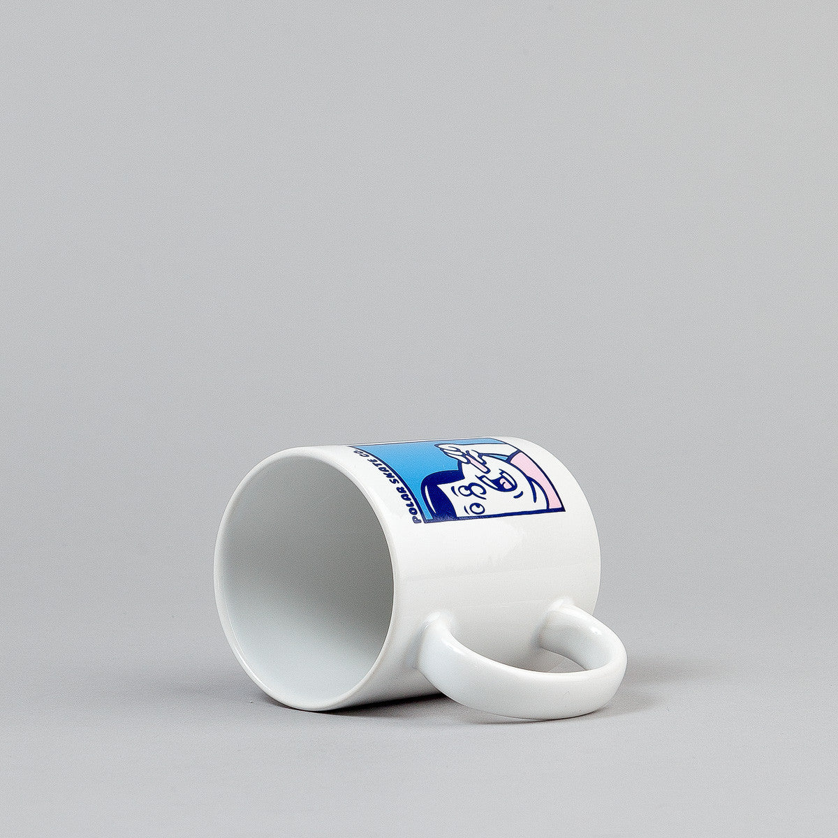 Polar Bubblegum Mug - White / Blue / Pink