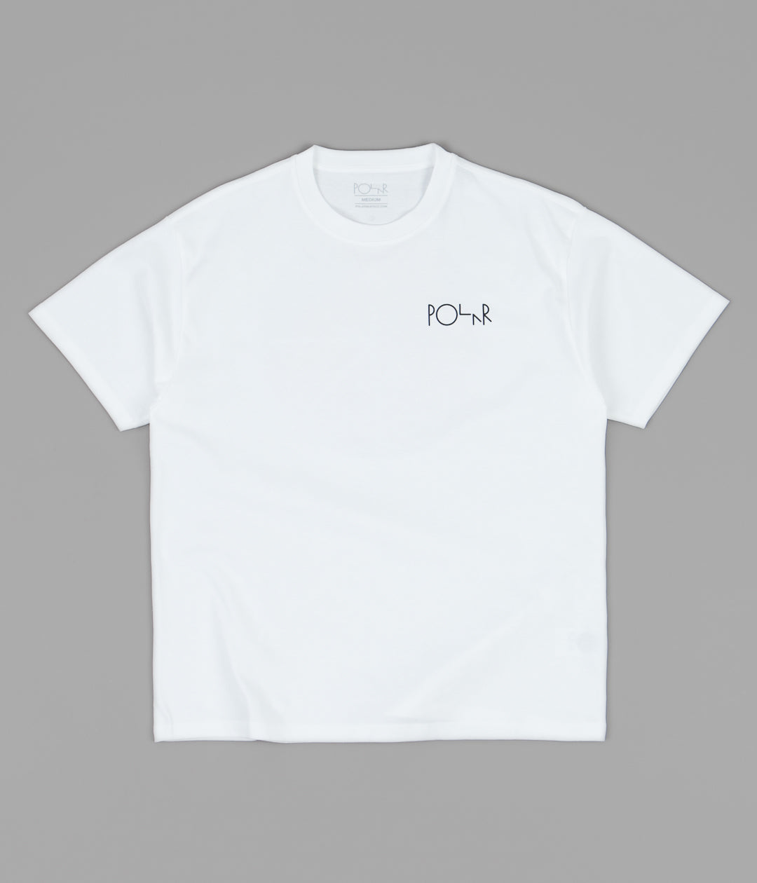 Polar Callistemon Fill Logo T-Shirt - White