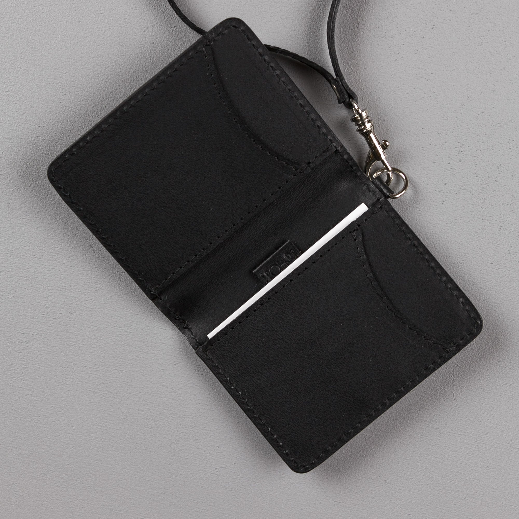 Polar Card Holder Wallet - Black