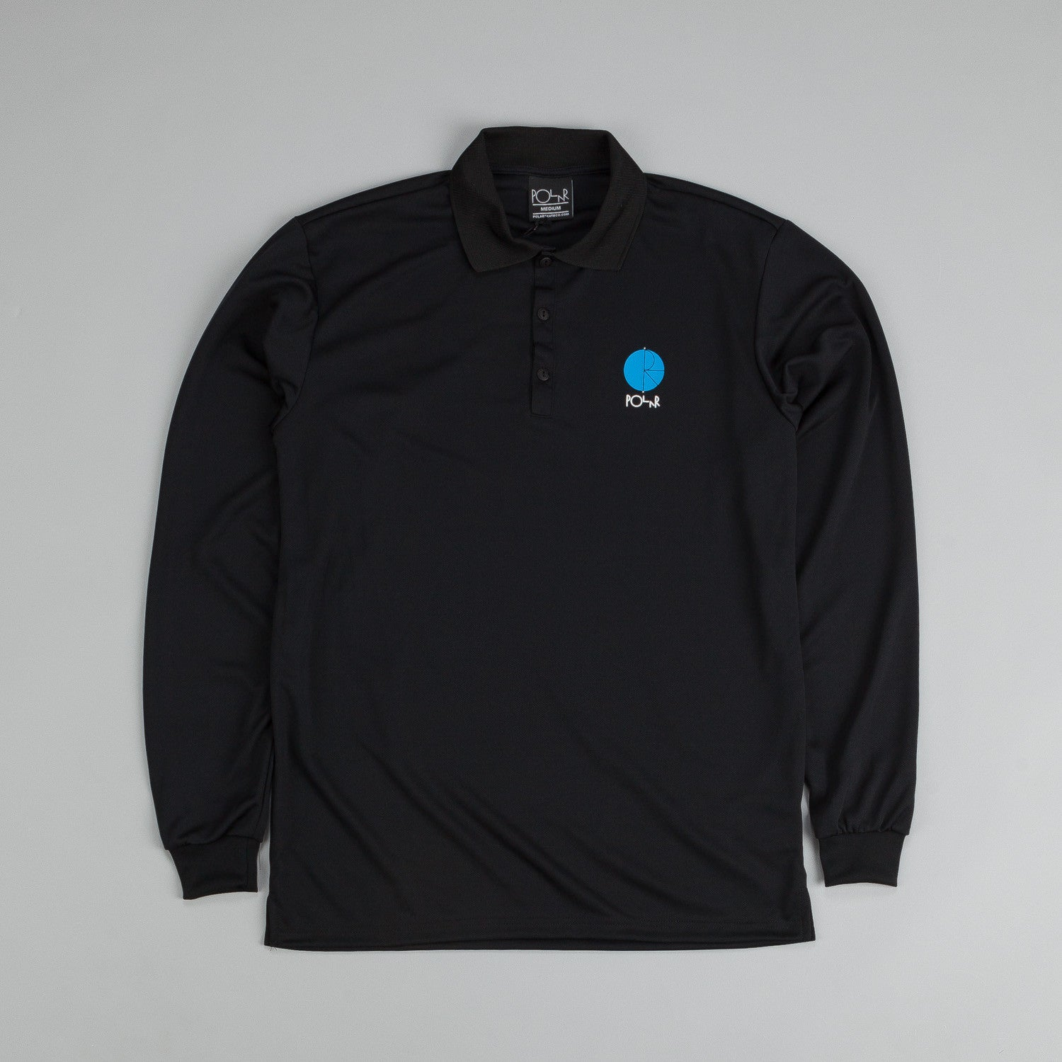 Polar Champion Borg L/S Shirt Black /Blue