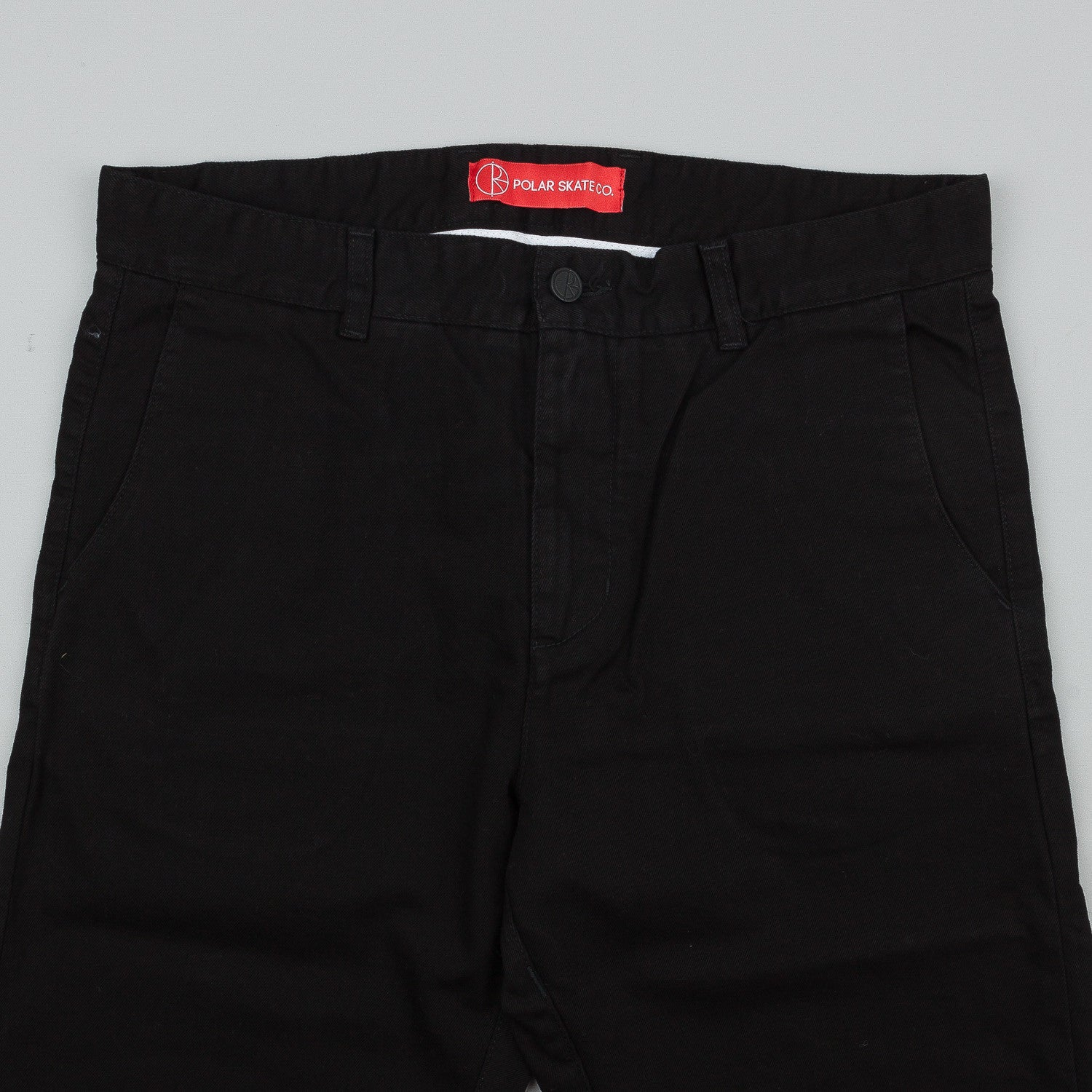 Polar Chino Trousers - Black
