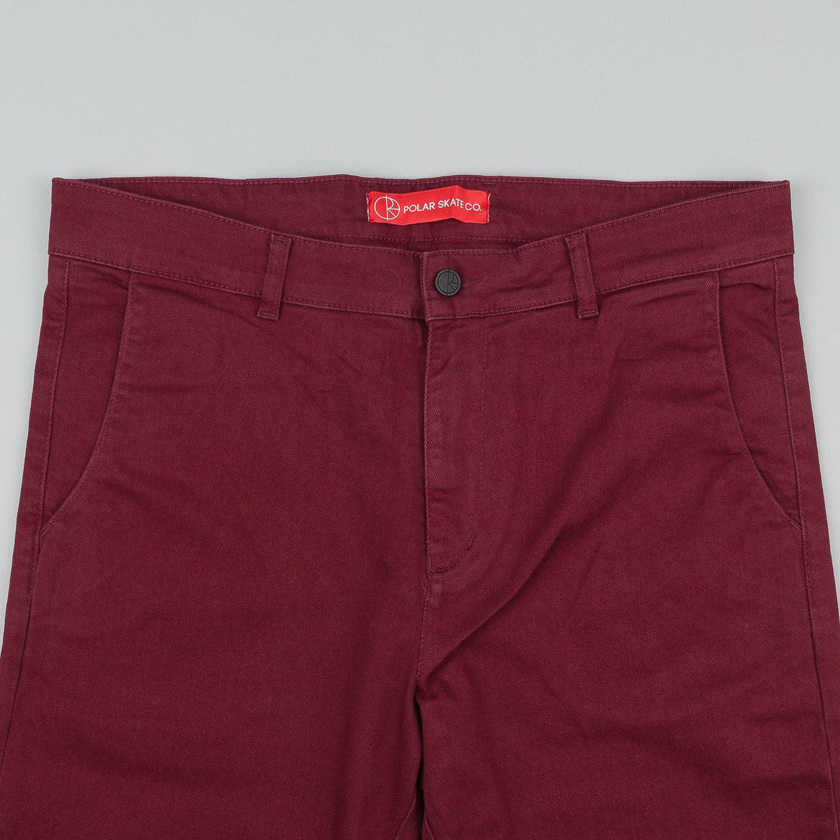Polar Chino Trousers - Burgundy