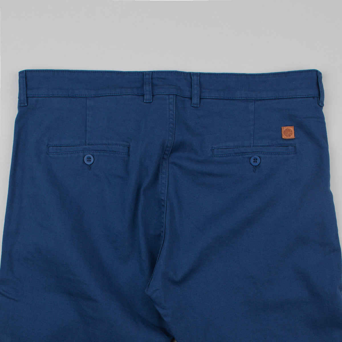 Polar Chino Trousers - Dirty Blue