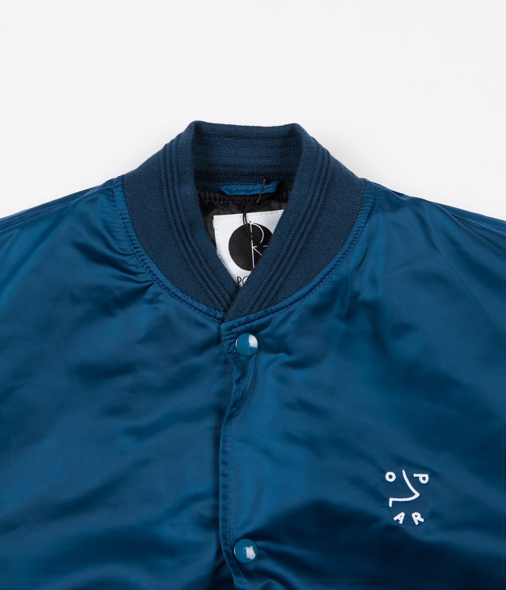 Polar College Jacket - Petrol Blue