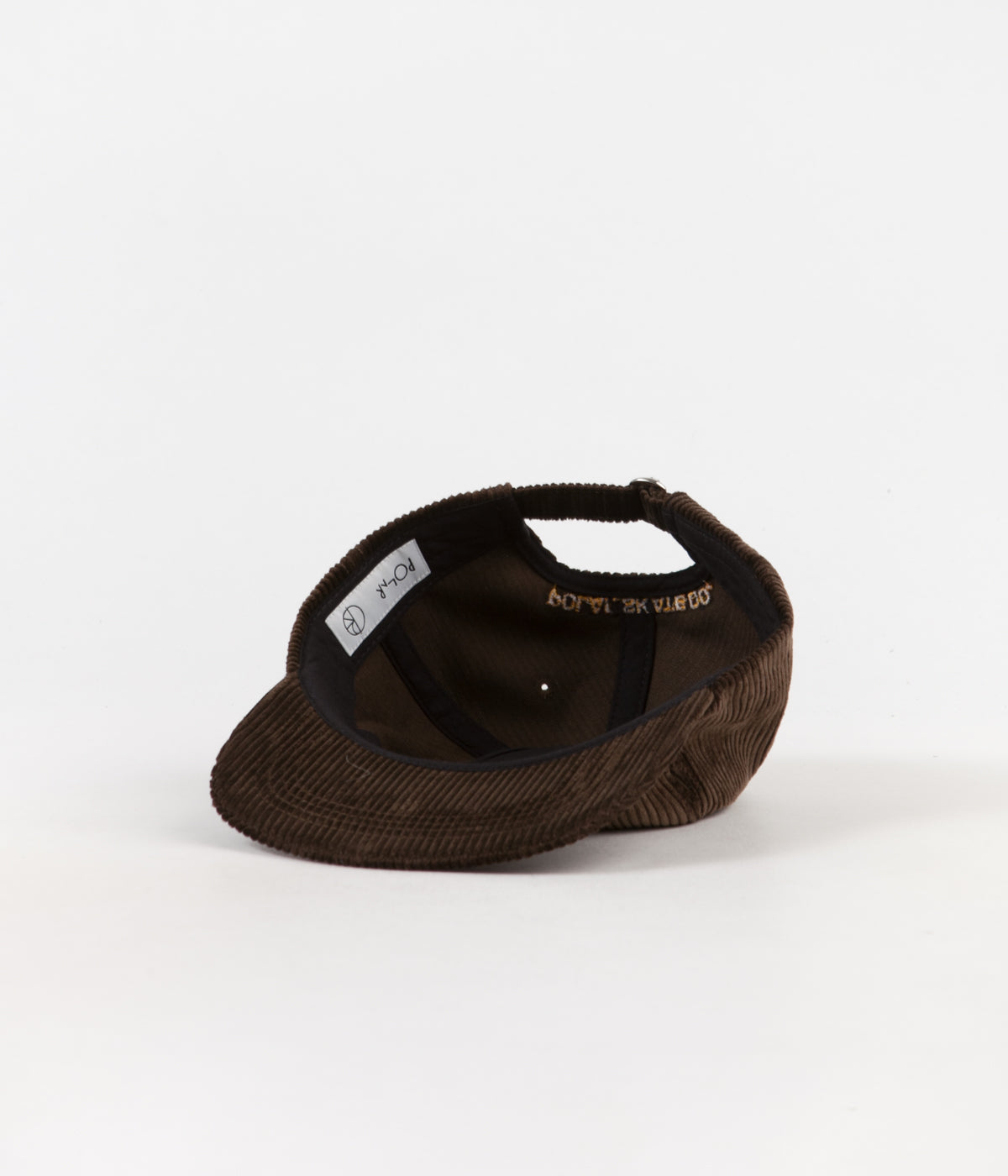 Polar Cord 5 Panel Cap - Brown