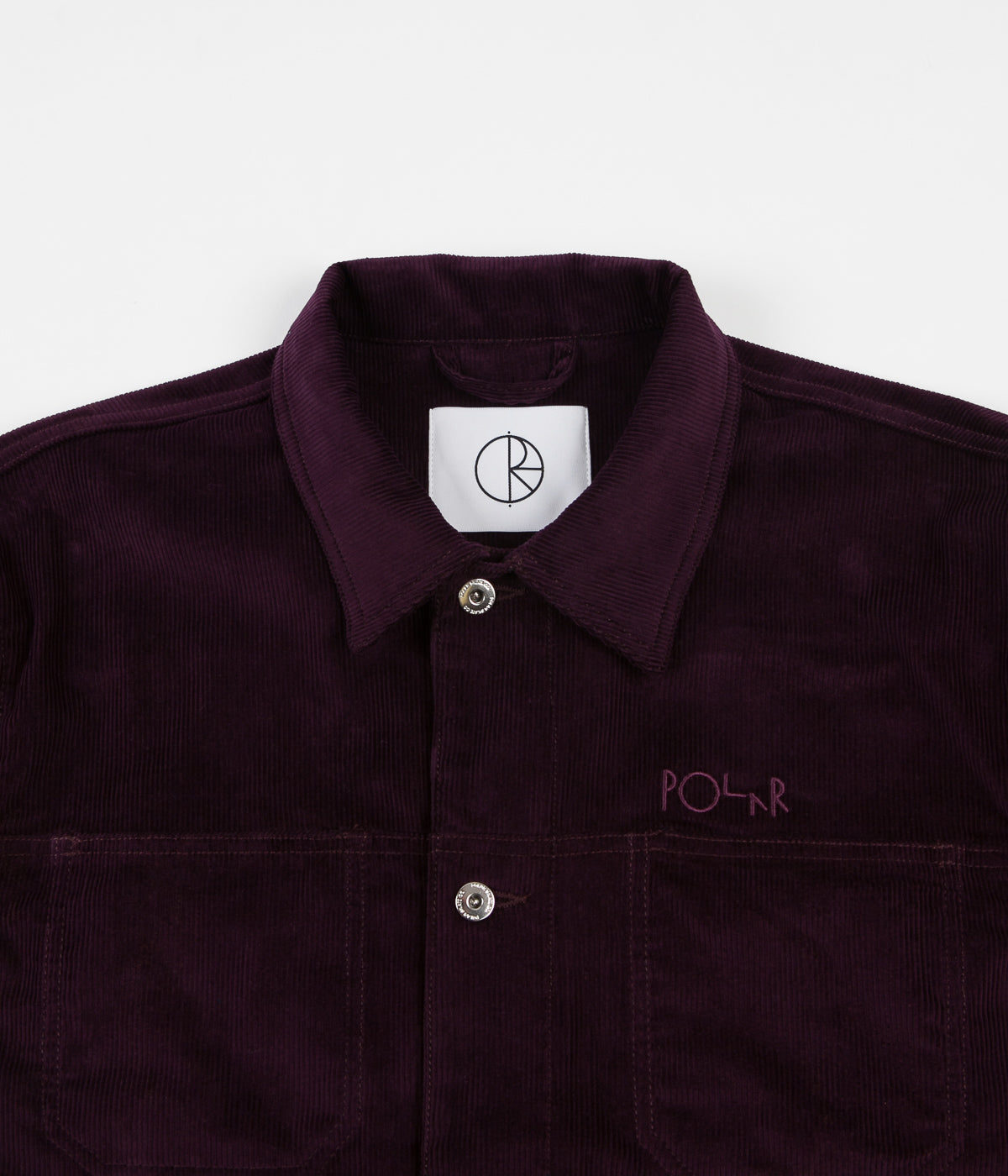 Polar Cord Jacket - Prune