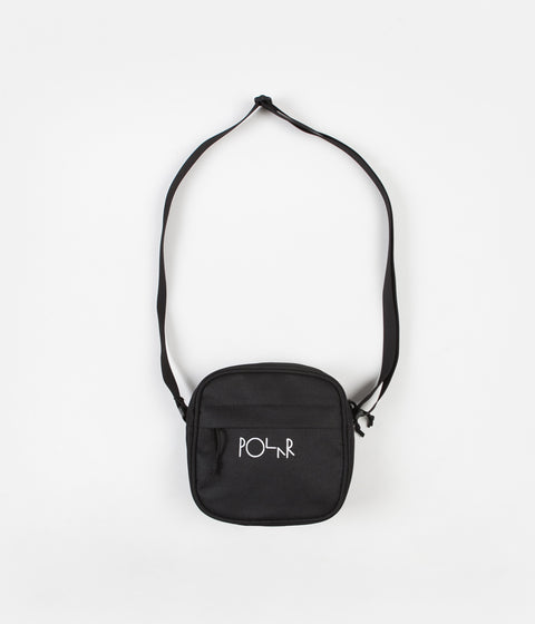 Polar Cordura Script Logo Dealer Bag - Black