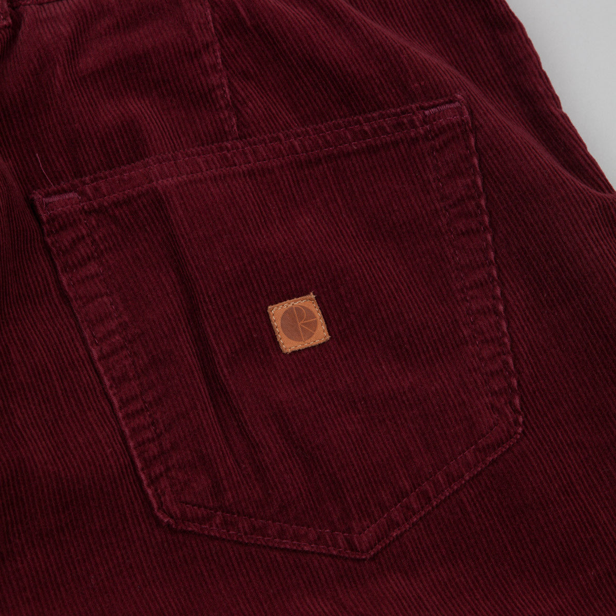 Polar Corduroy Trousers - Burgundy
