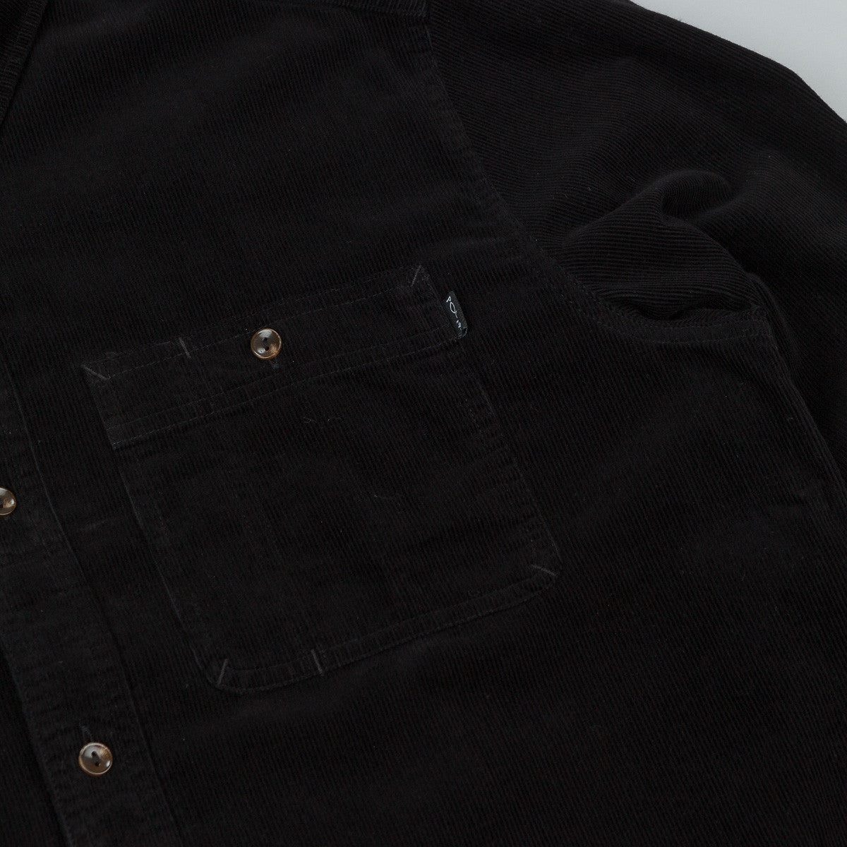 Polar Corduroy Shirt - Black