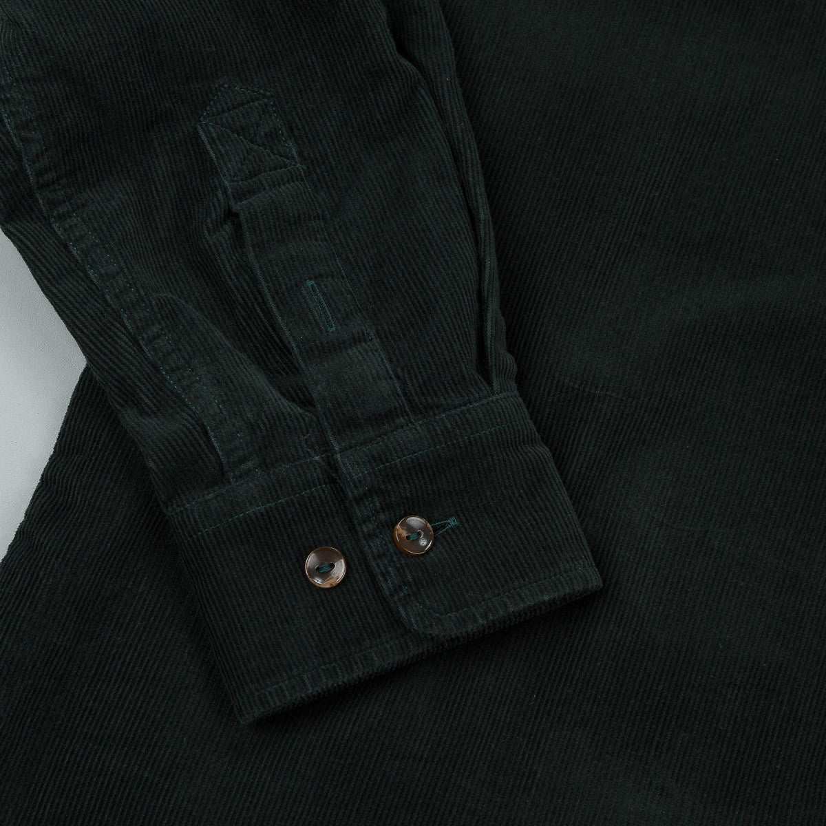 Polar Corduroy Shirt - Botanical Green