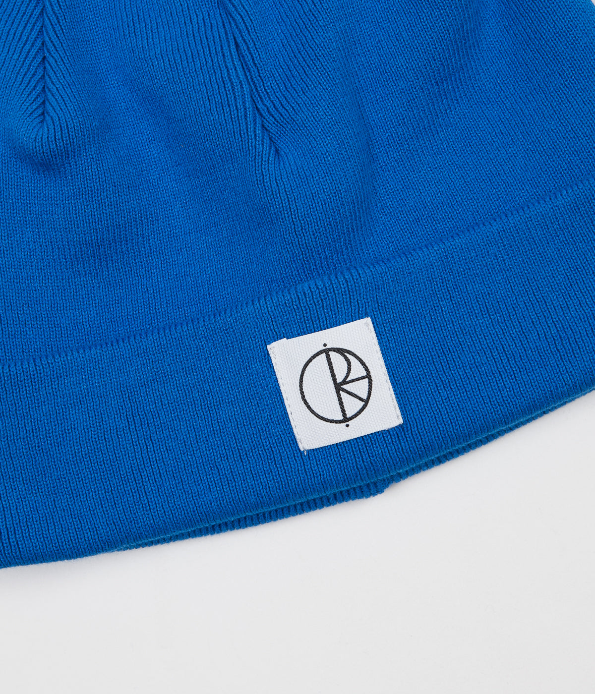Polar Cotton Beanie - 80's Blue