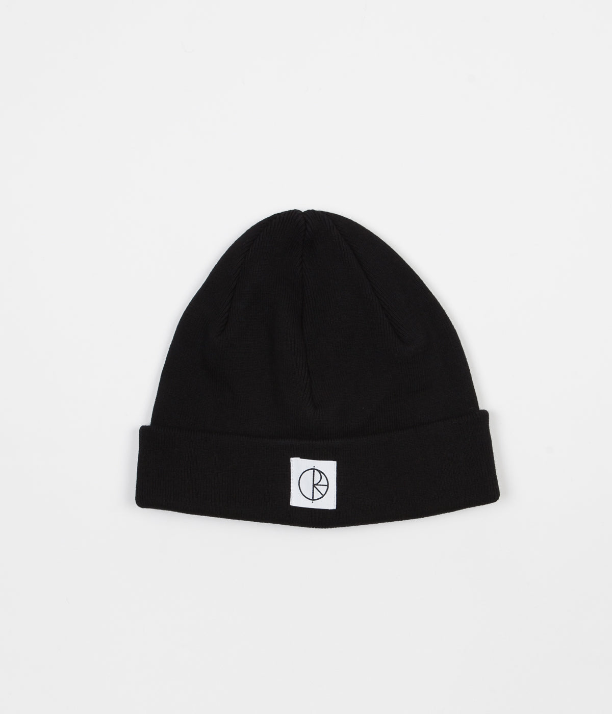 Polar Cotton Beanie - Black