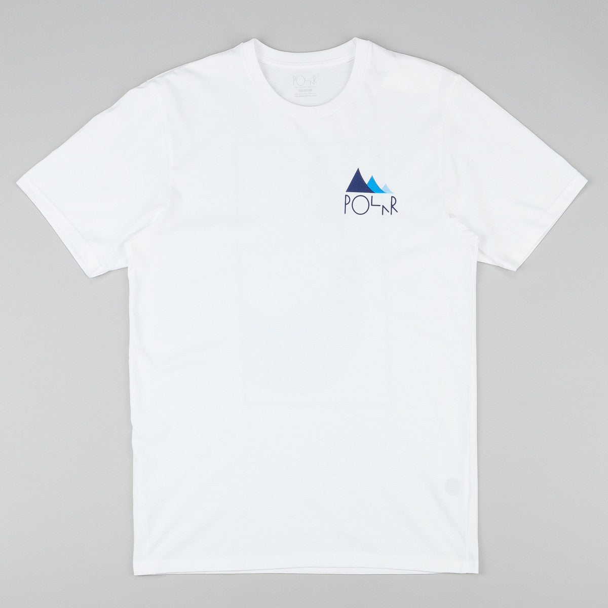 Polar Cut Out BS Nosepick T-Shirt - White