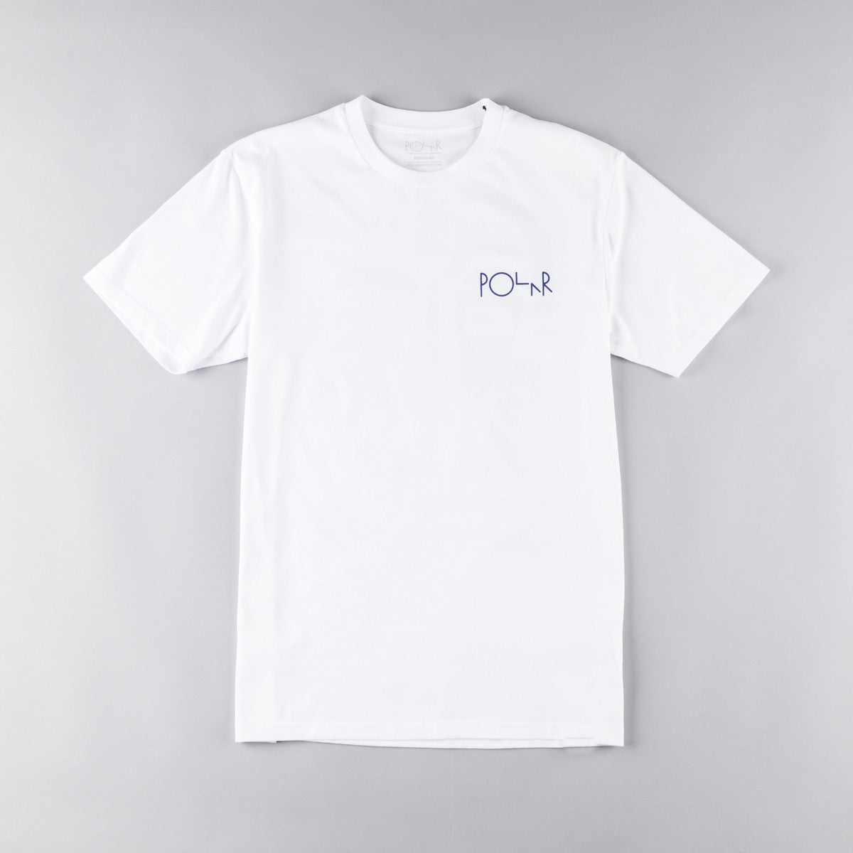 Polar Cut Out Leftovers T-Shirt - White