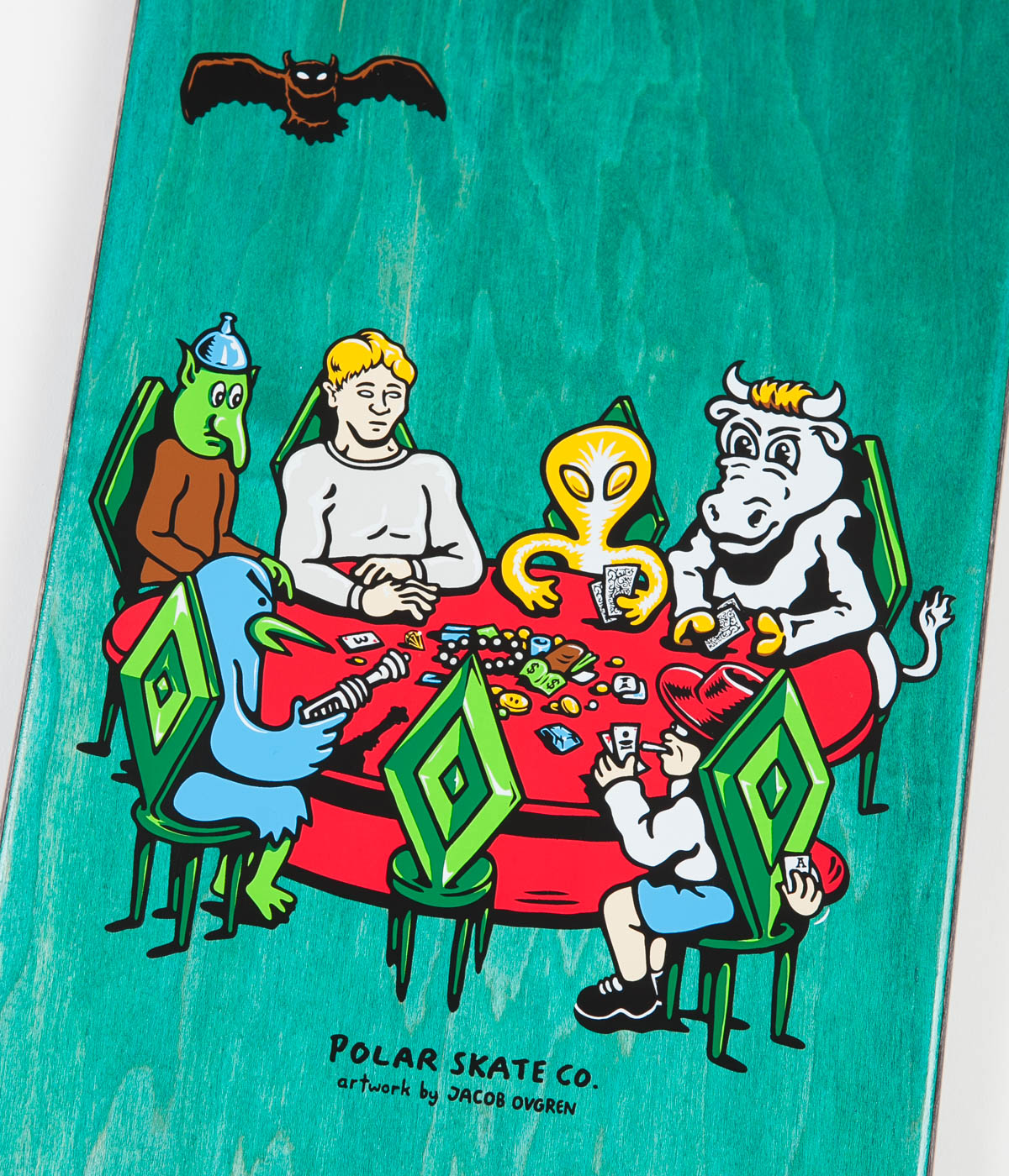 Polar Dane Brady Poker Night Deck - 8.125""