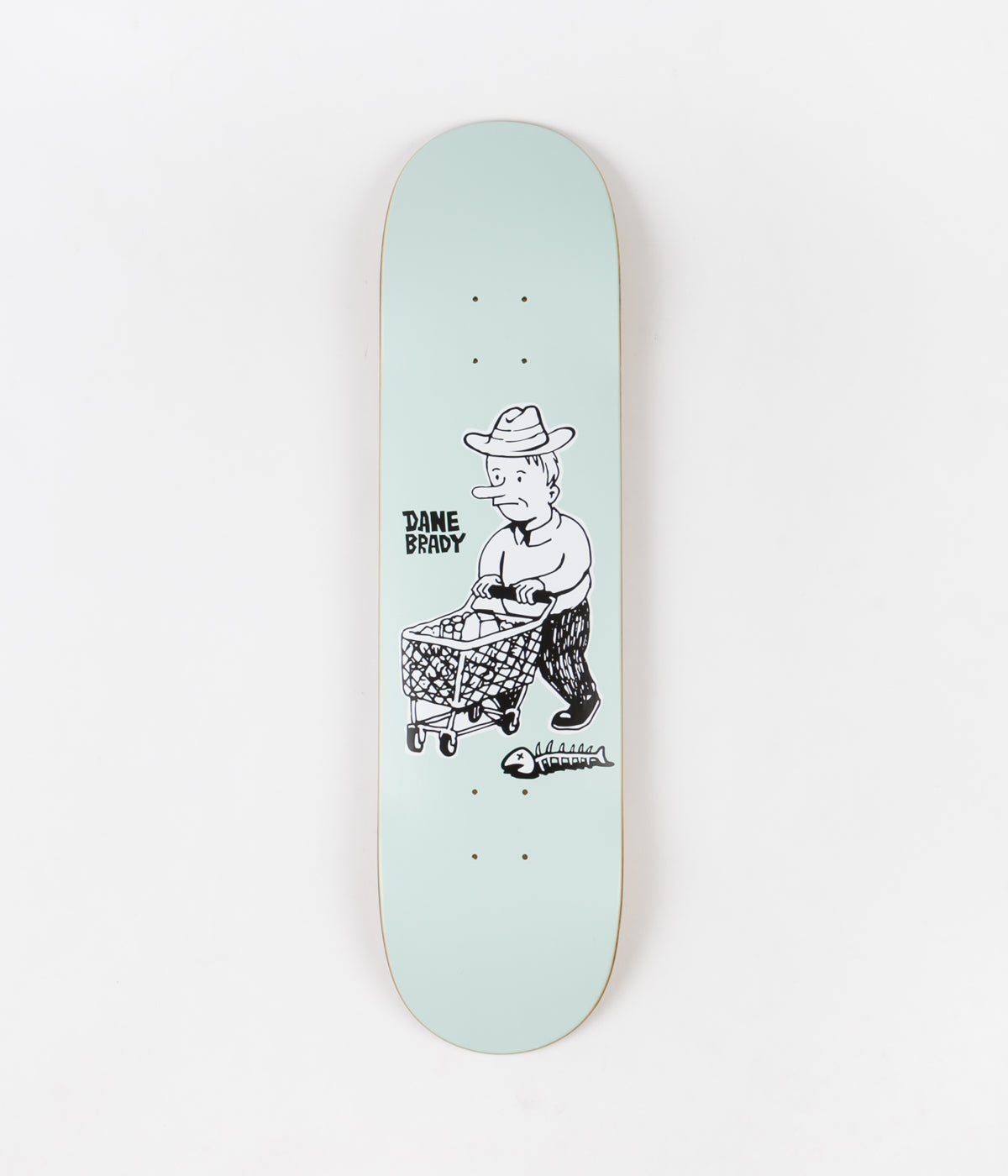 Polar Dane Brady Shopping Spree Deck - Grey Green - 8""
