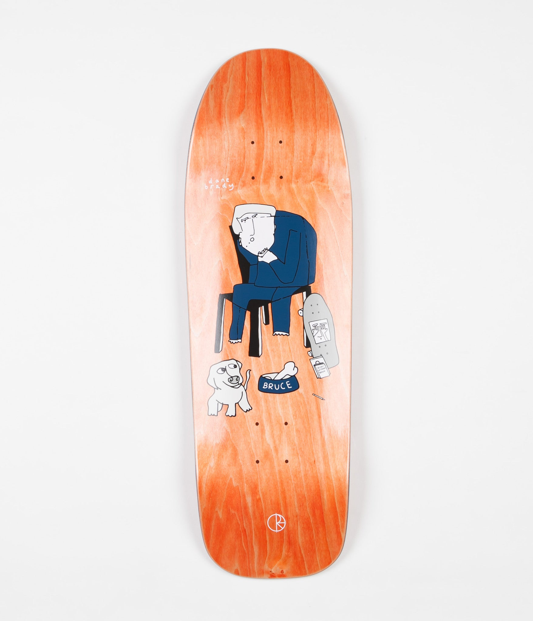 Polar Dane & Bruce Deck - Natural - DANE1