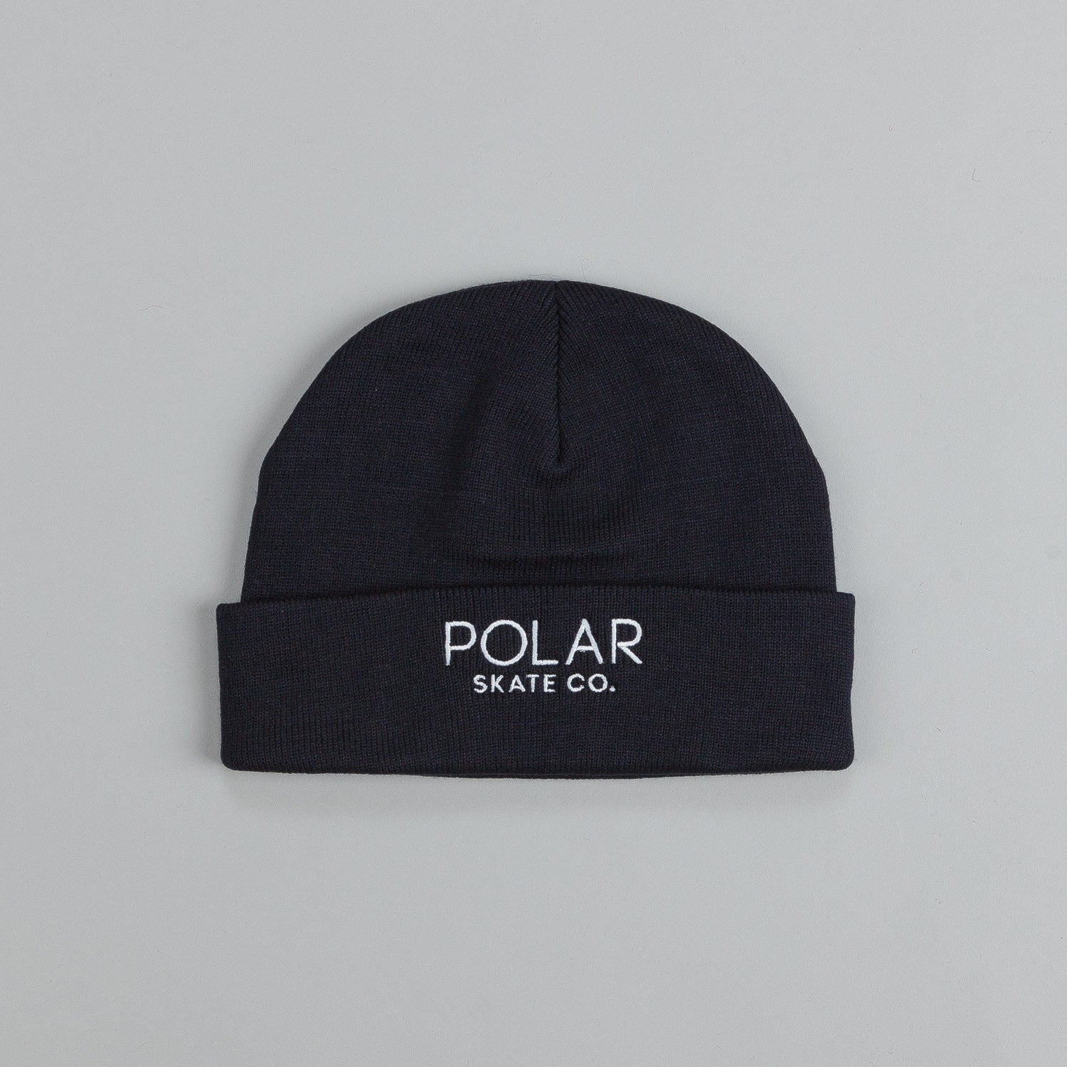Polar Default Beanie Navy / White Embroidery