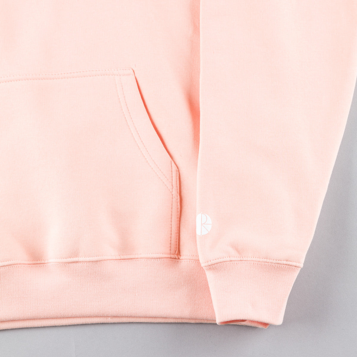 Polar Default Hooded Sweatshirt - Peach