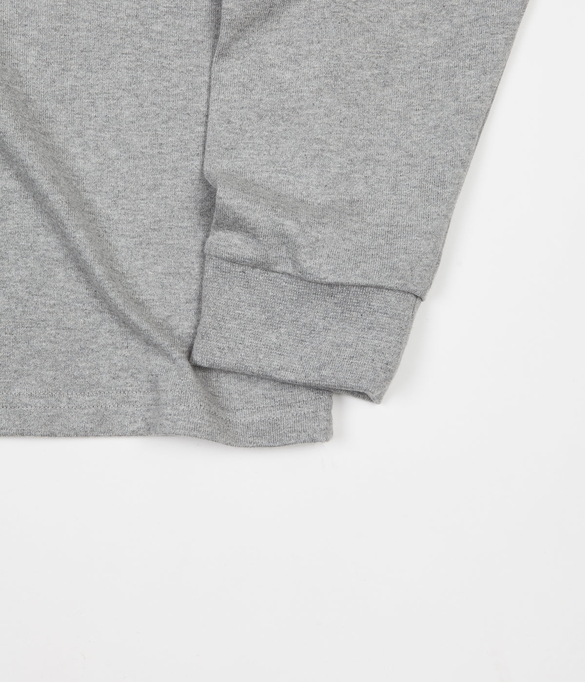 Polar Default Long Sleeve T-Shirt - Heather Grey