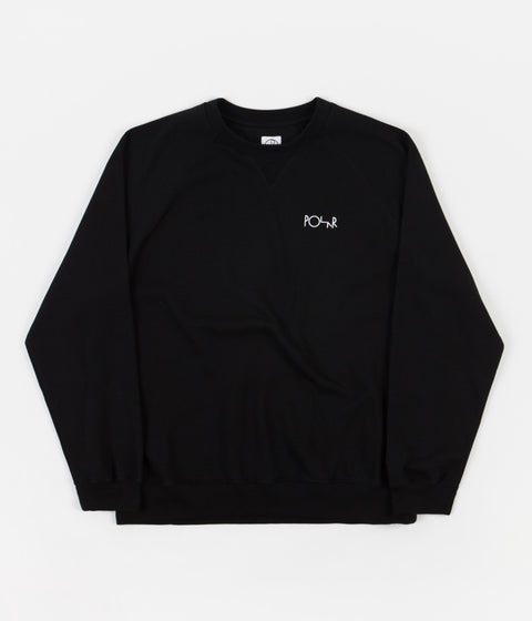 Polar Default Crewneck Sweatshirt - Black
