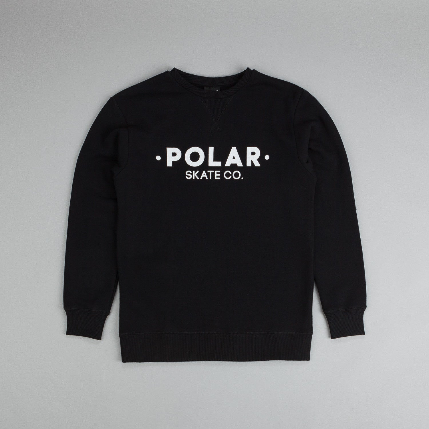 Polar Default Sweatshirt Black / White