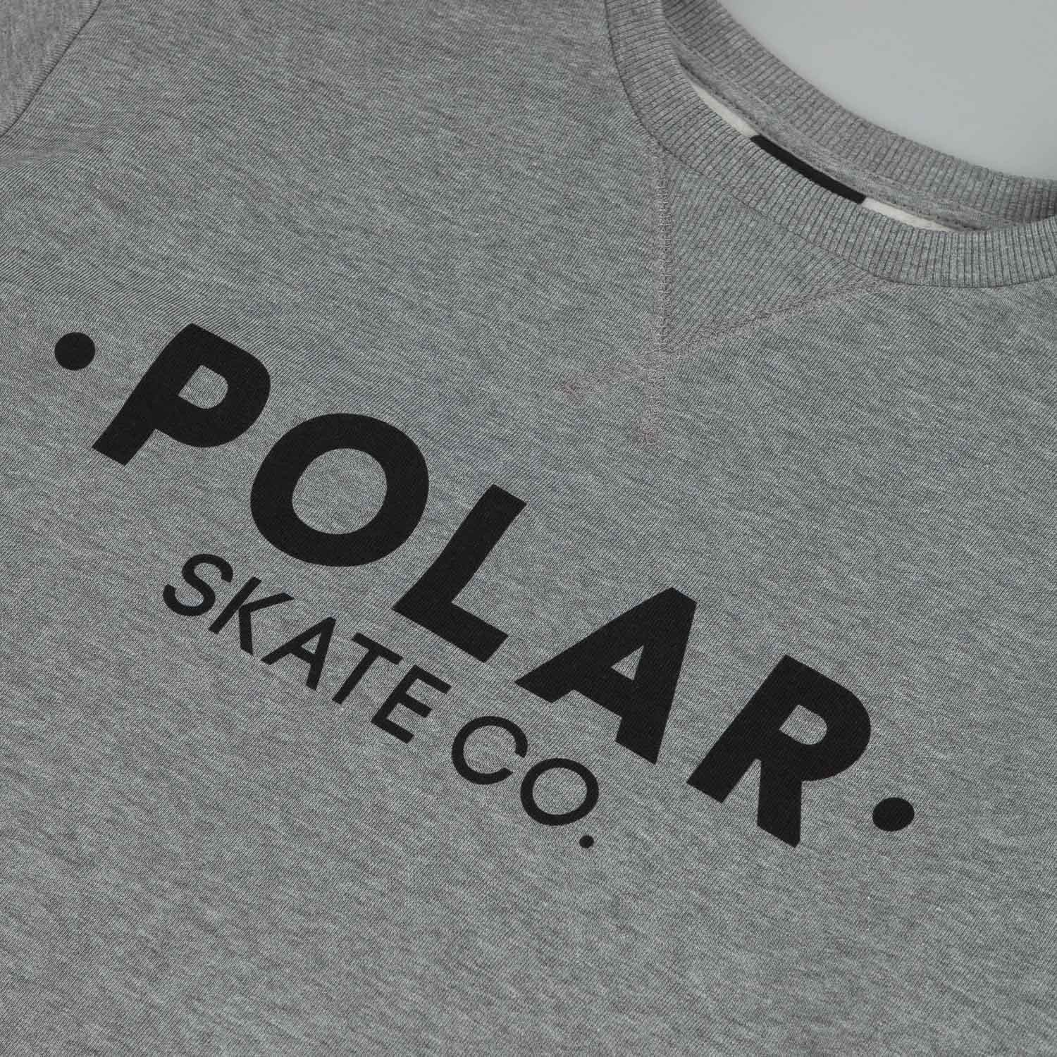Polar Default Sweatshirt Grey Heather / Black
