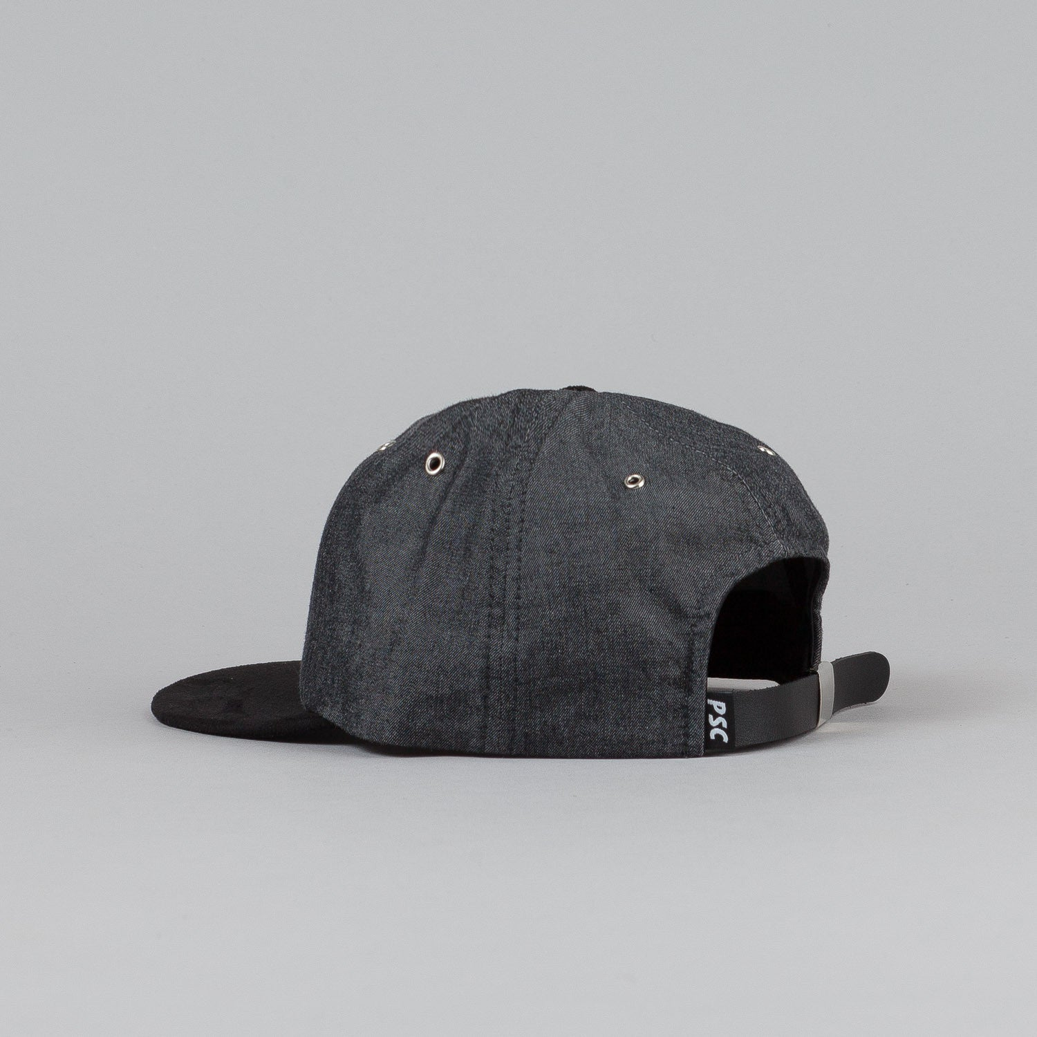 Polar Soft Denim Cap Black Denim / Black Suede / Black Leather