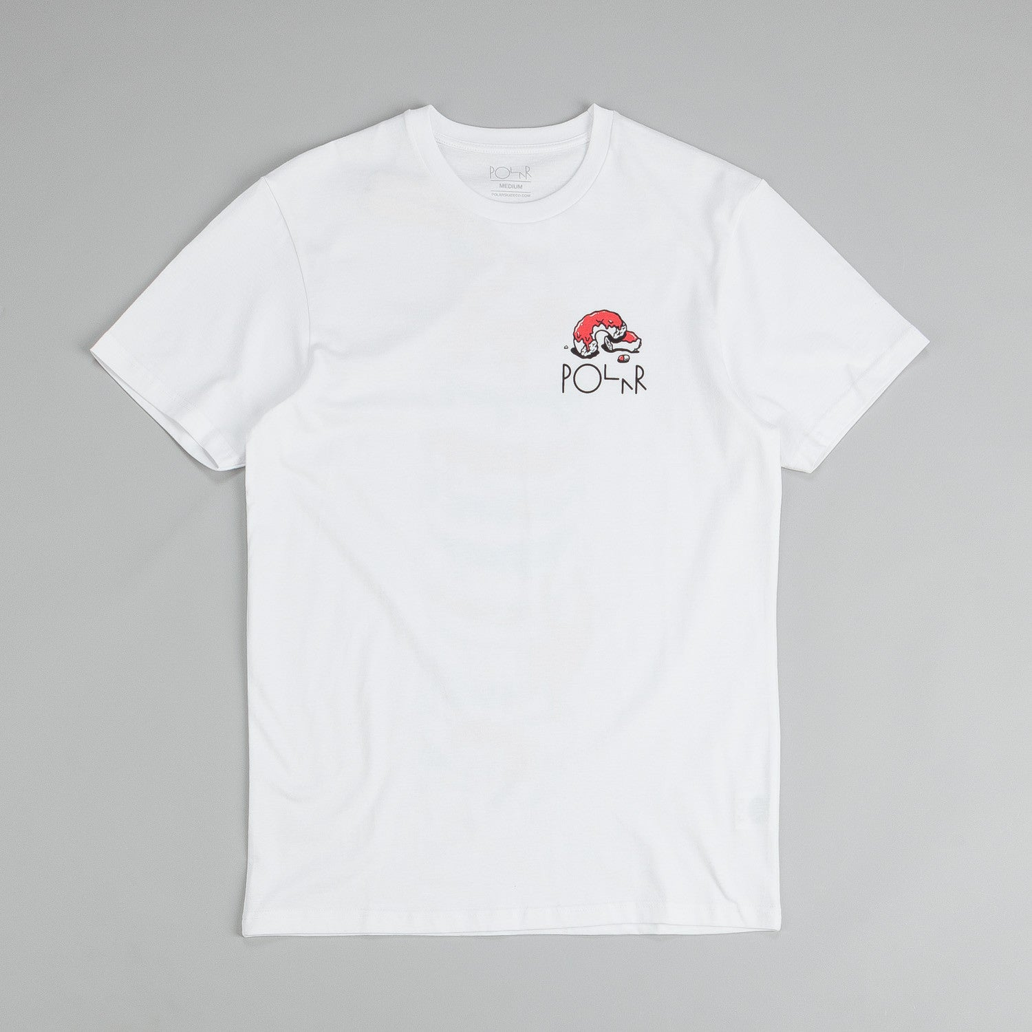 Polar Donut Kingdom T Shirt White / Red - Blue - Black