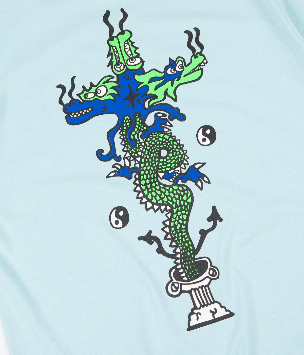 Polar Dragon T-Shirt - Aquamarine