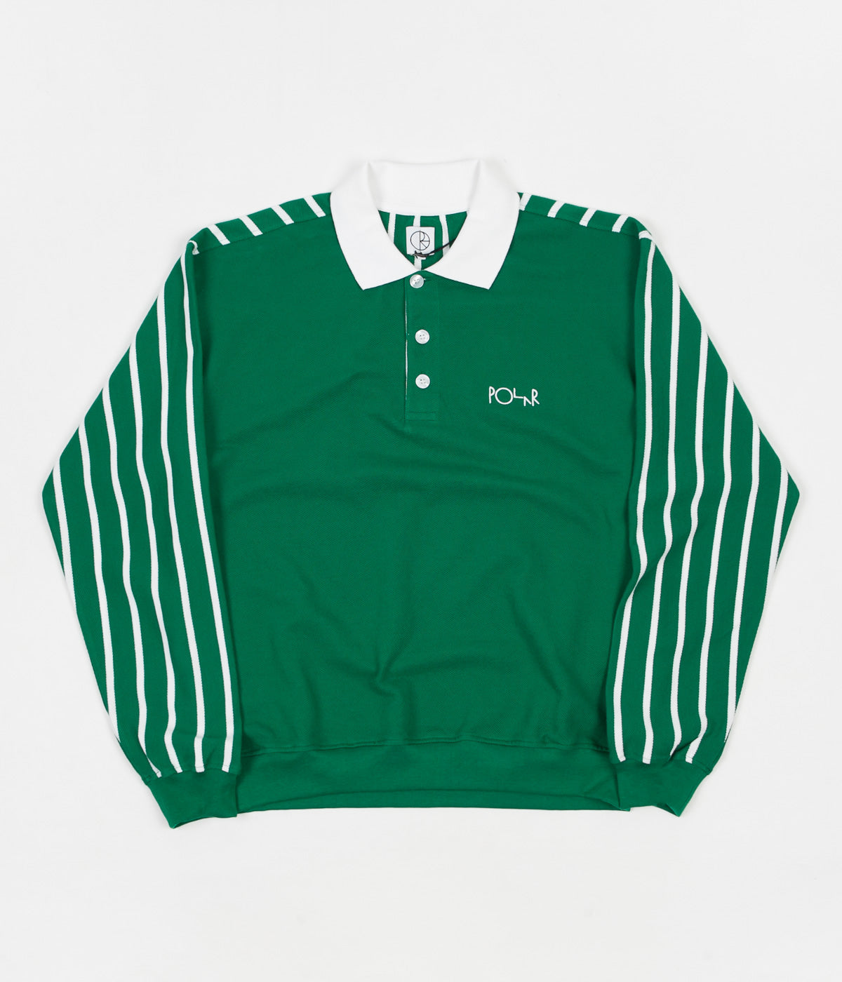 Polar Duo Pique Polo Shirt - Green