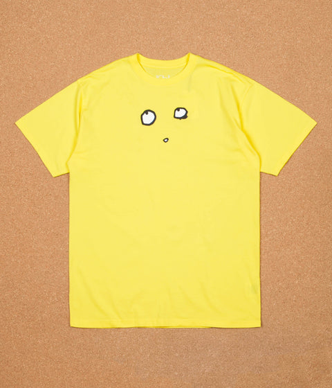 Polar Eyes T-Shirt - Shock Yellow