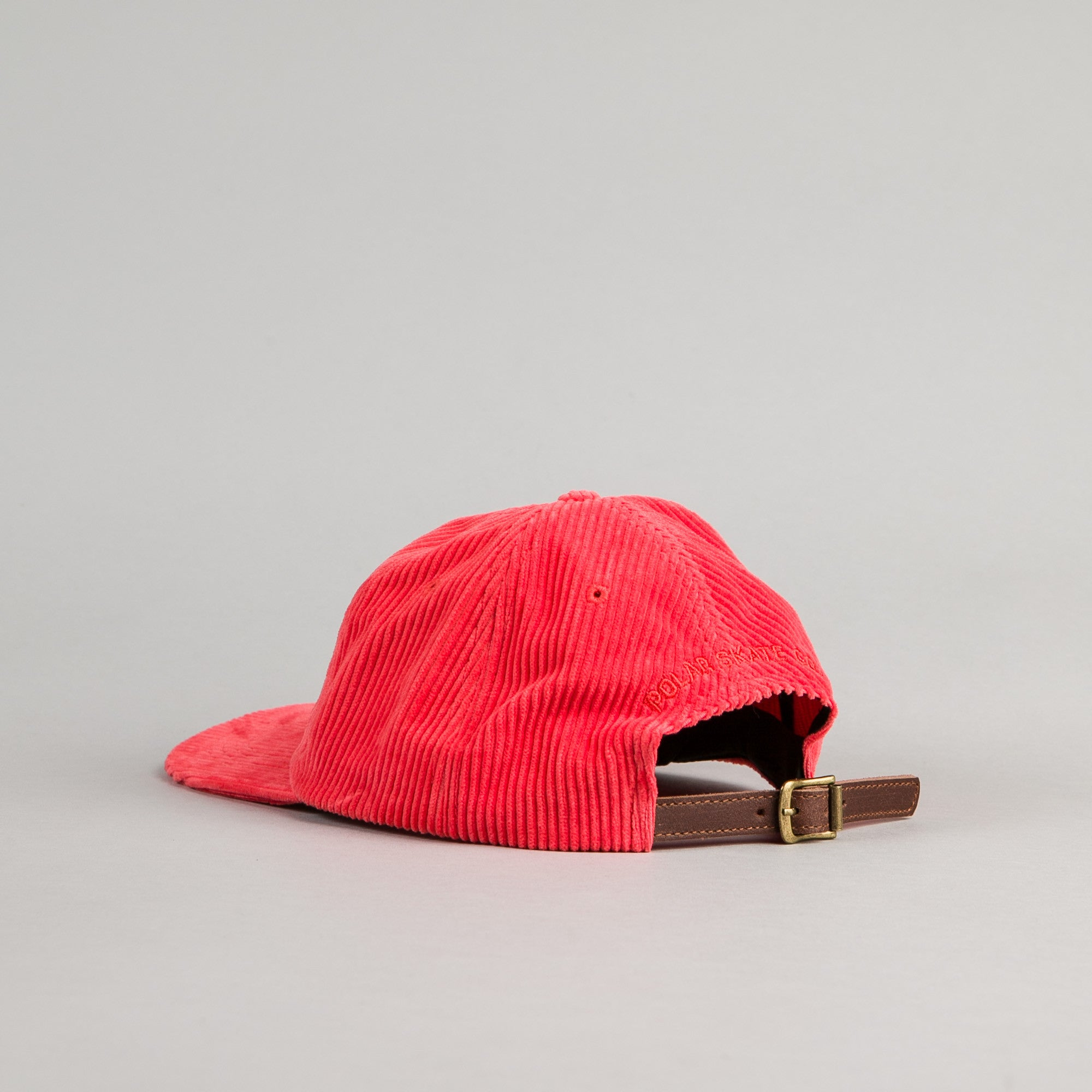 Polar Fat Corduroy Cap - Dusty Red