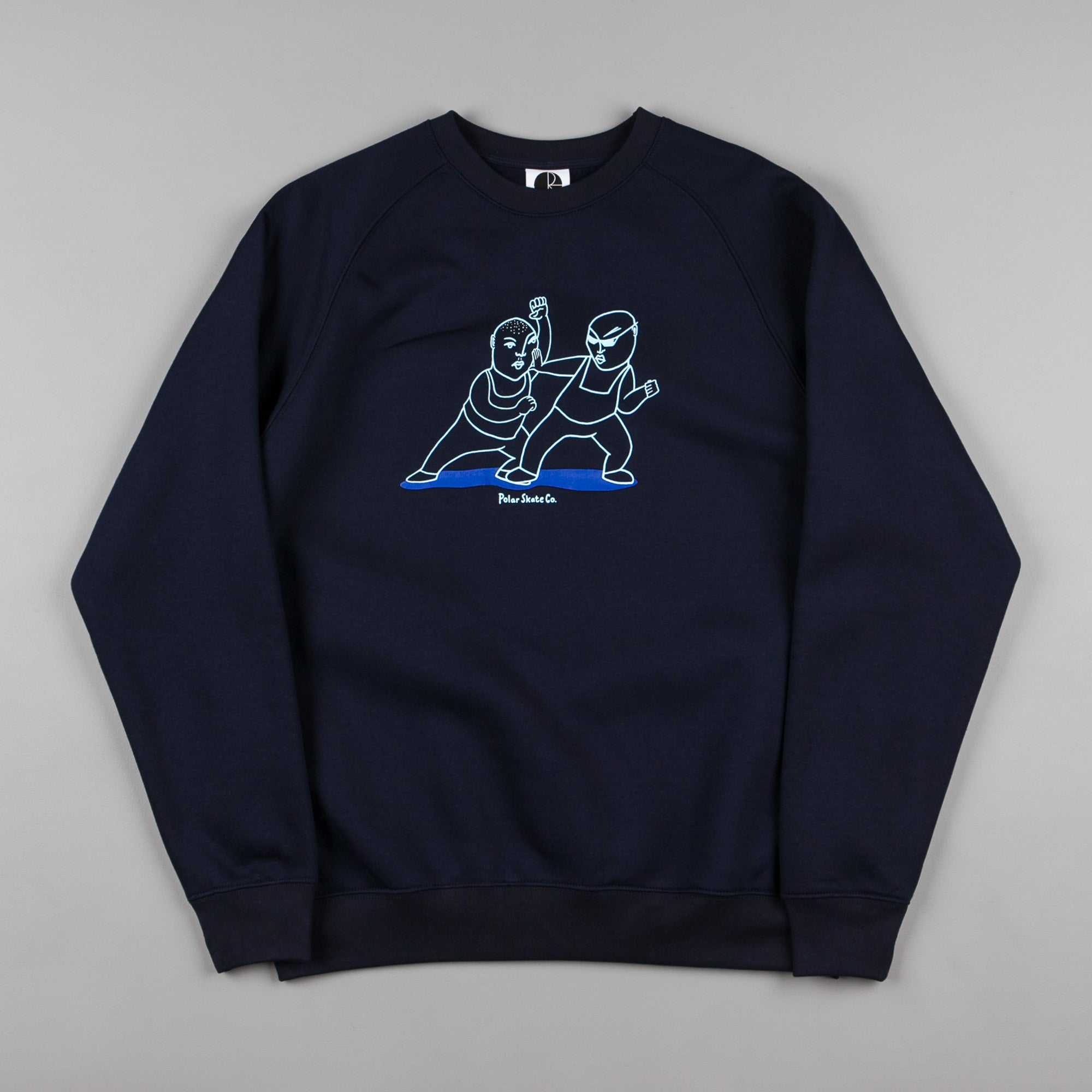 Polar Fight Club Sweatshirt - Navy