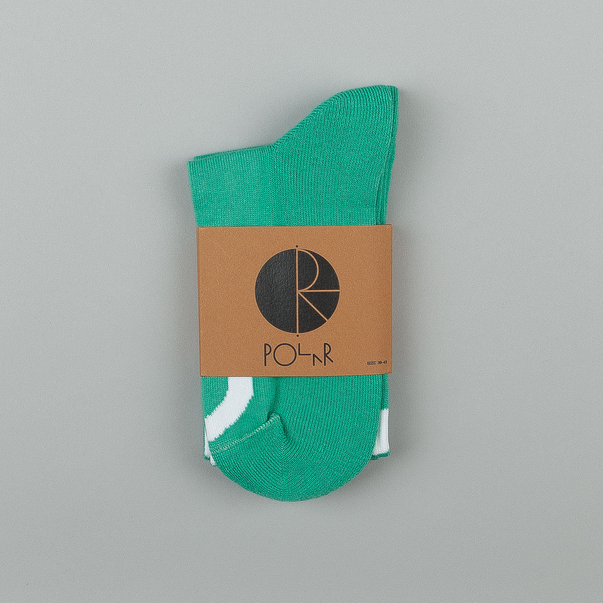 Polar Happy Sad Classic Socks - Sports Green