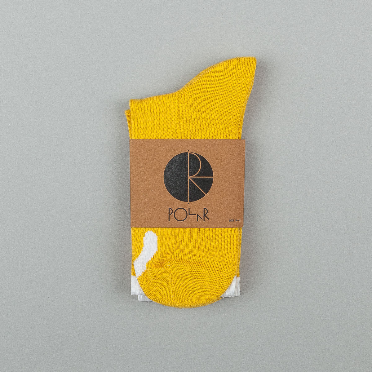 Polar Happy Sad Classic Socks - Yellow