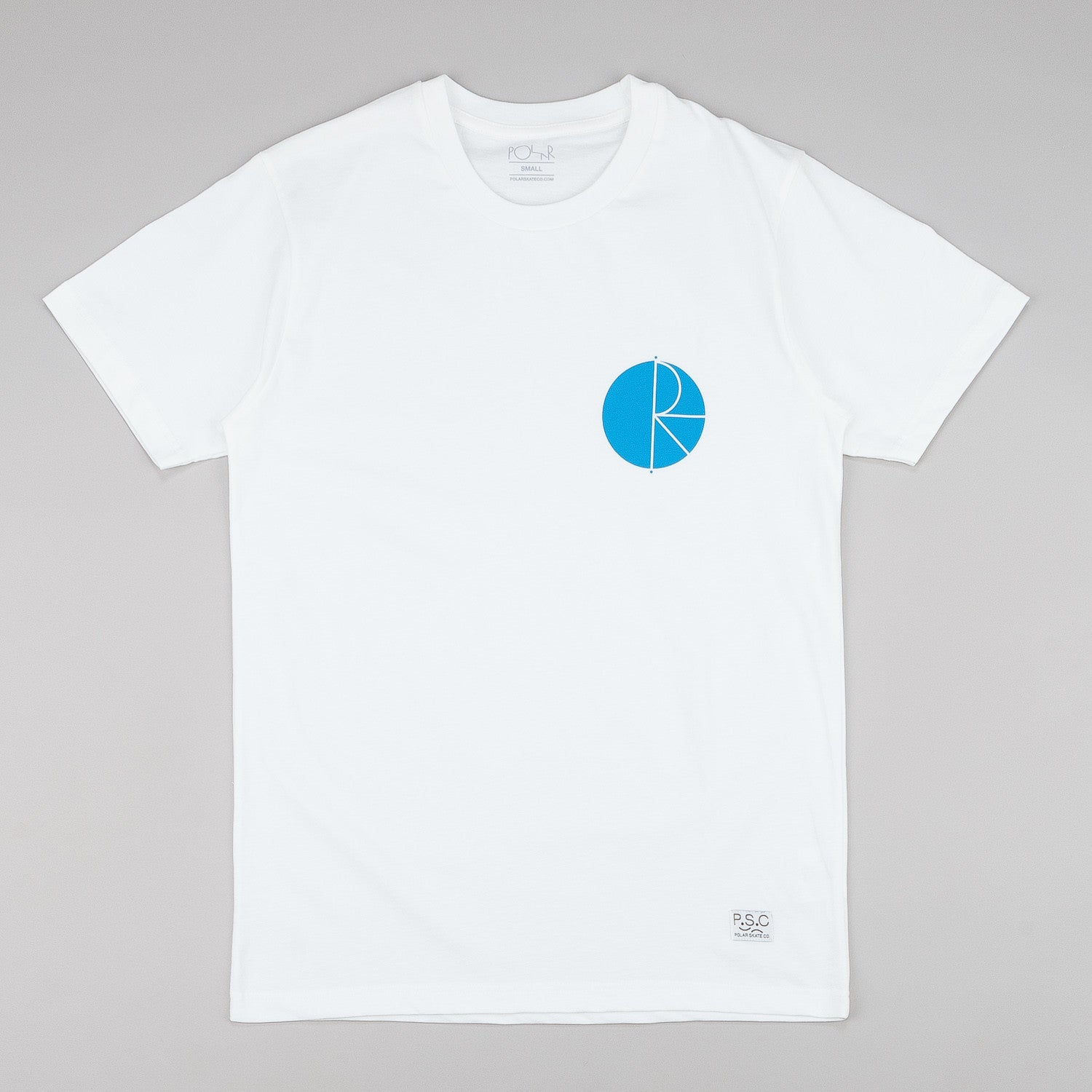 Polar Fill Logo And Label T-Shirt