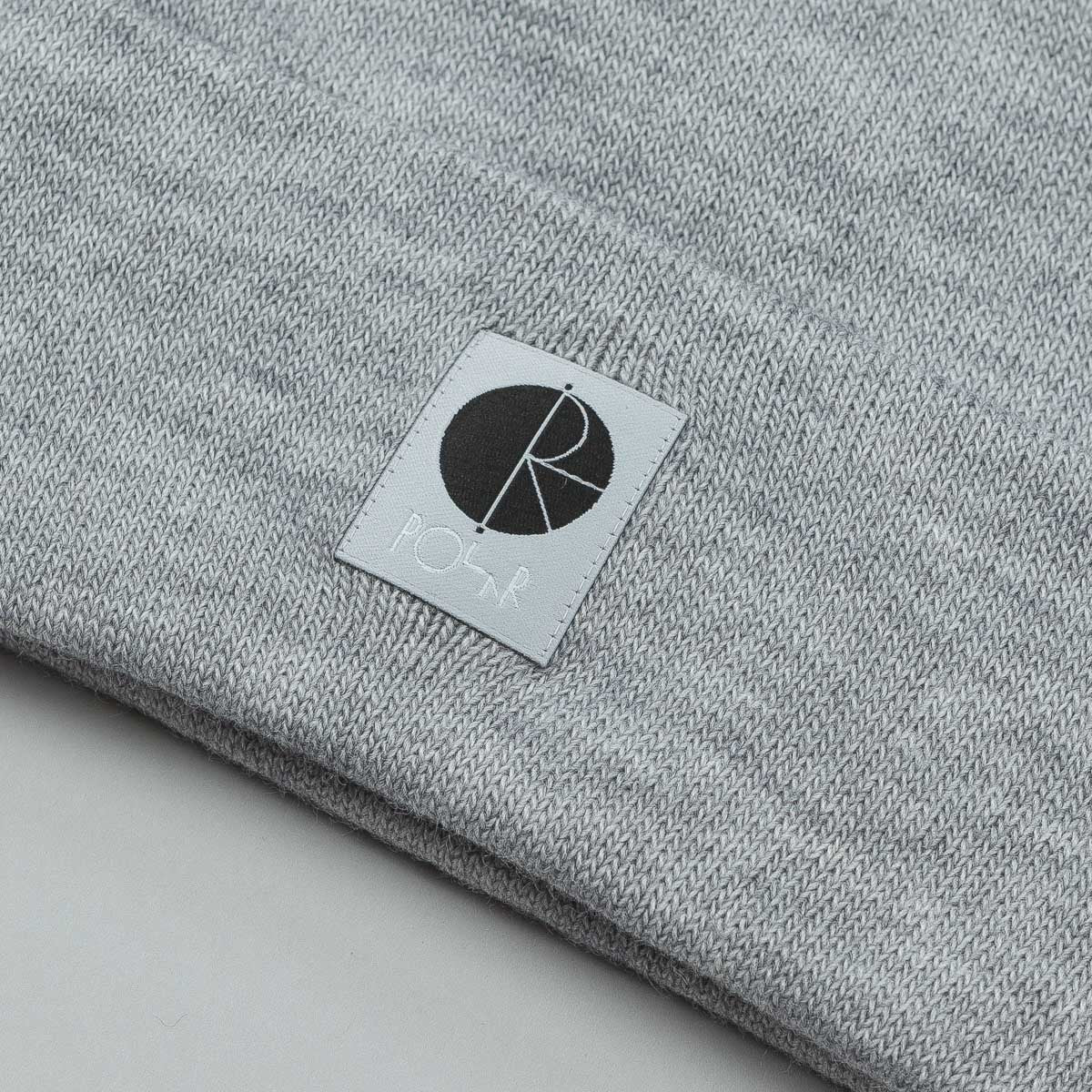 Polar Fill Logo Beanie - Grey Heather / Black