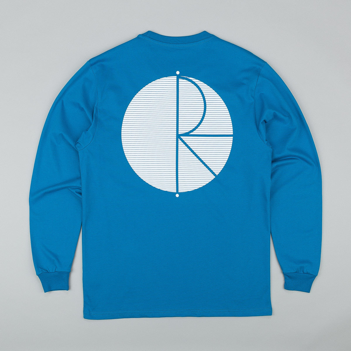 Polar Fill Logo Behind The Curtain Long Sleeve T-Shirt