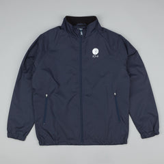 Polar Fill Logo Chest Running Jacket - Navy
