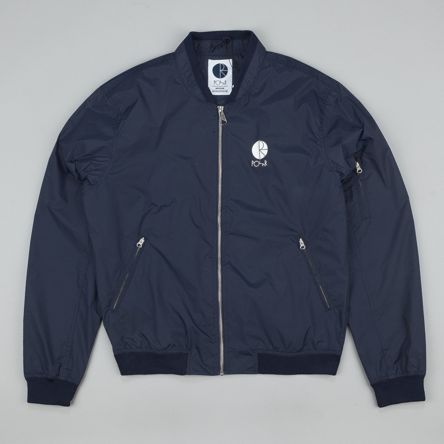 Polar Fill Logo Chest Sporty Bomb Jacket