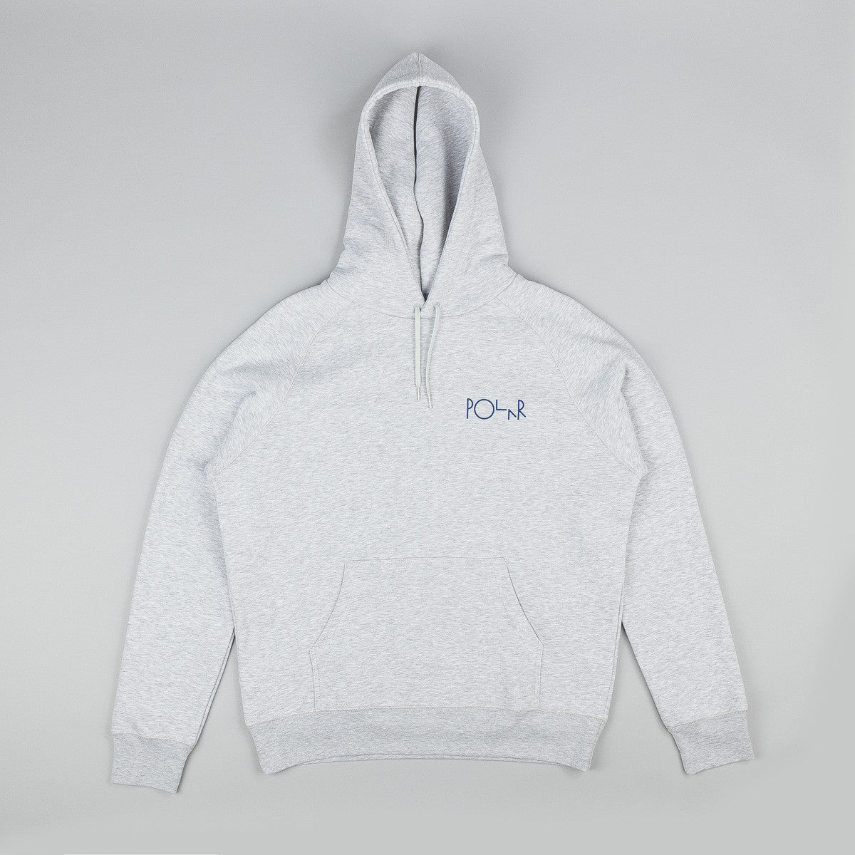 Polar Sport Grey Fill Logo Hooded Sweatshirt - Grey