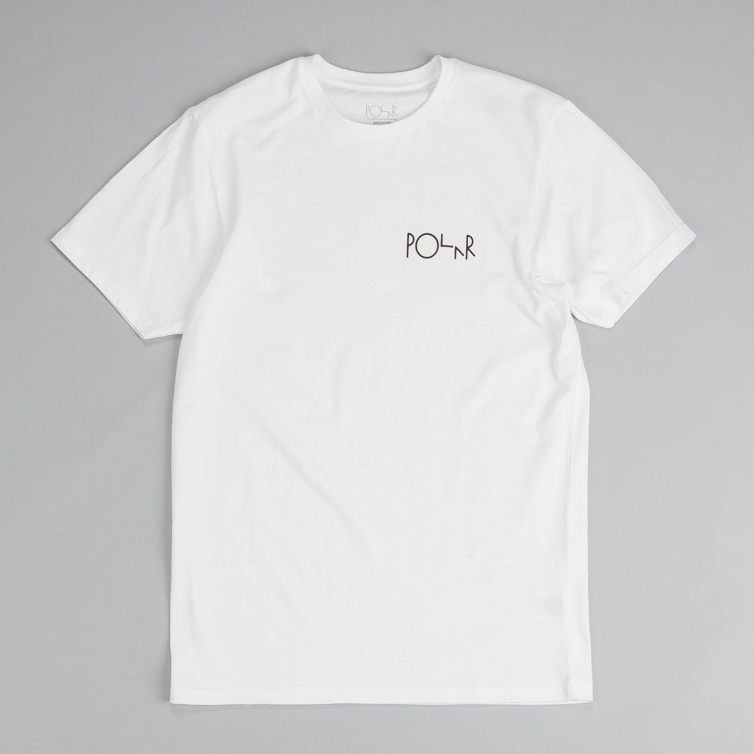 Polar Fill Logo Mesh Print T-Shirt Off White