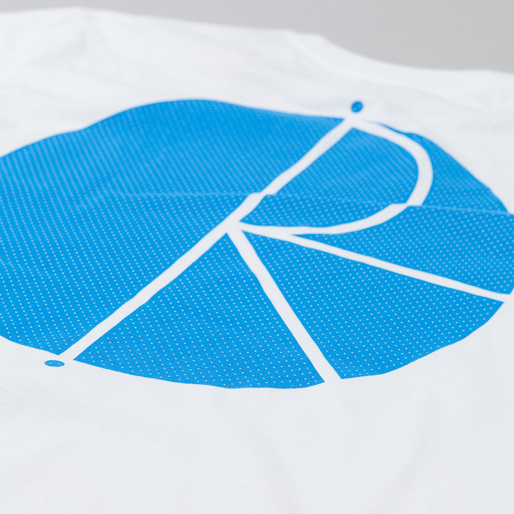 Polar Fill Logo Mesh Print T-Shirt White