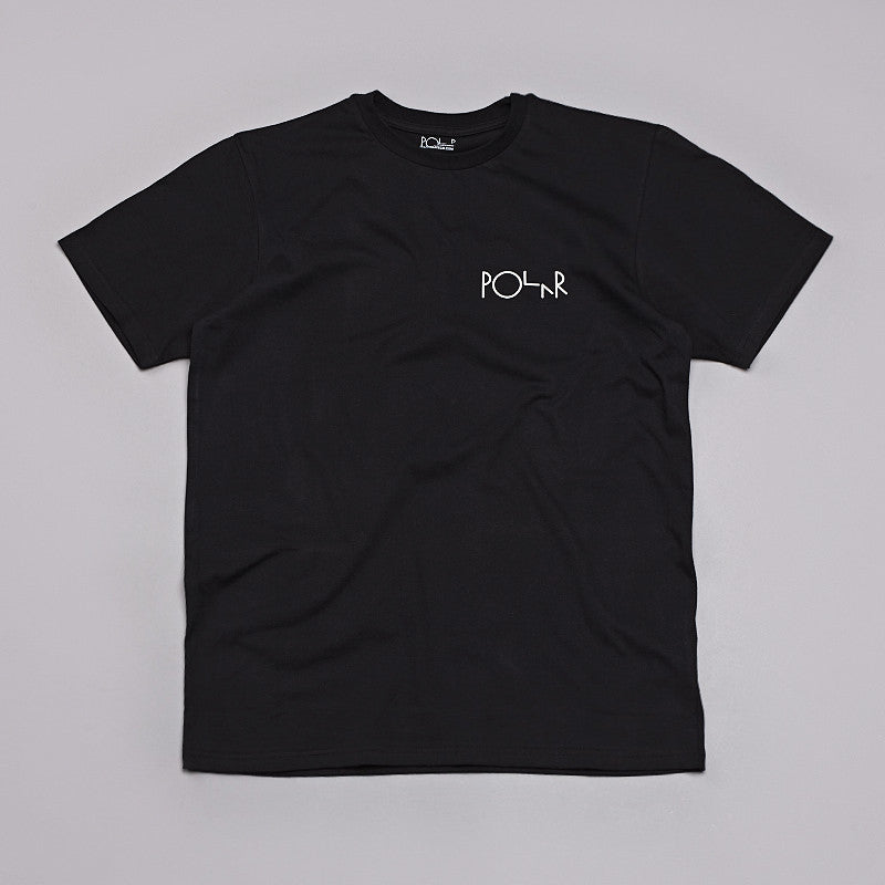 Polar Fill Logo Mesh T-shirt Black