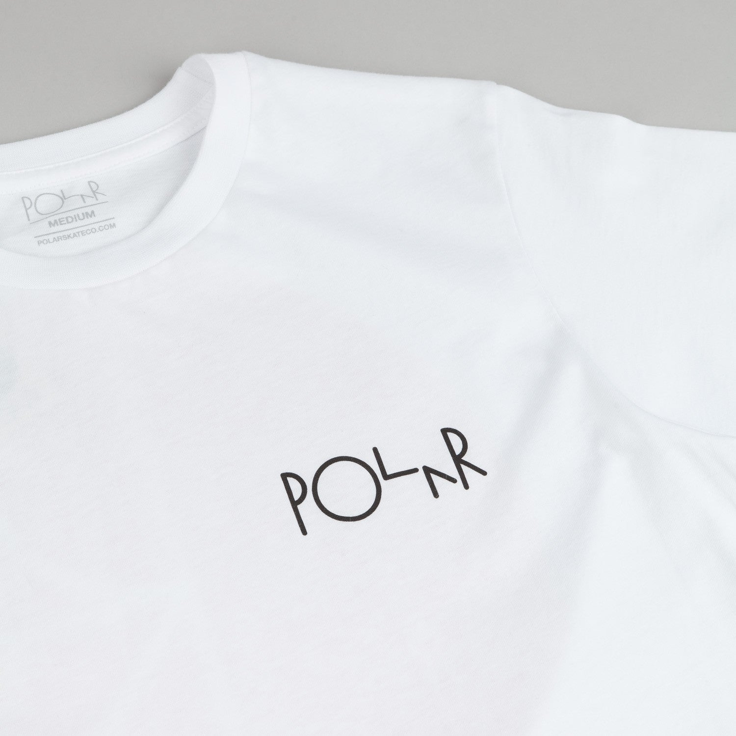 Polar Fill Logo Mesh T-Shirt - White / Red