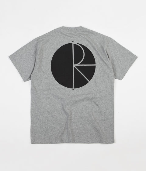 Polar Fill Logo T-Shirt - Heather Grey / Black