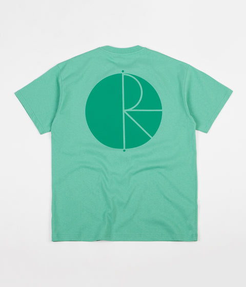 Polar Fill Logo T-Shirt - Peppermint  / Dark Green